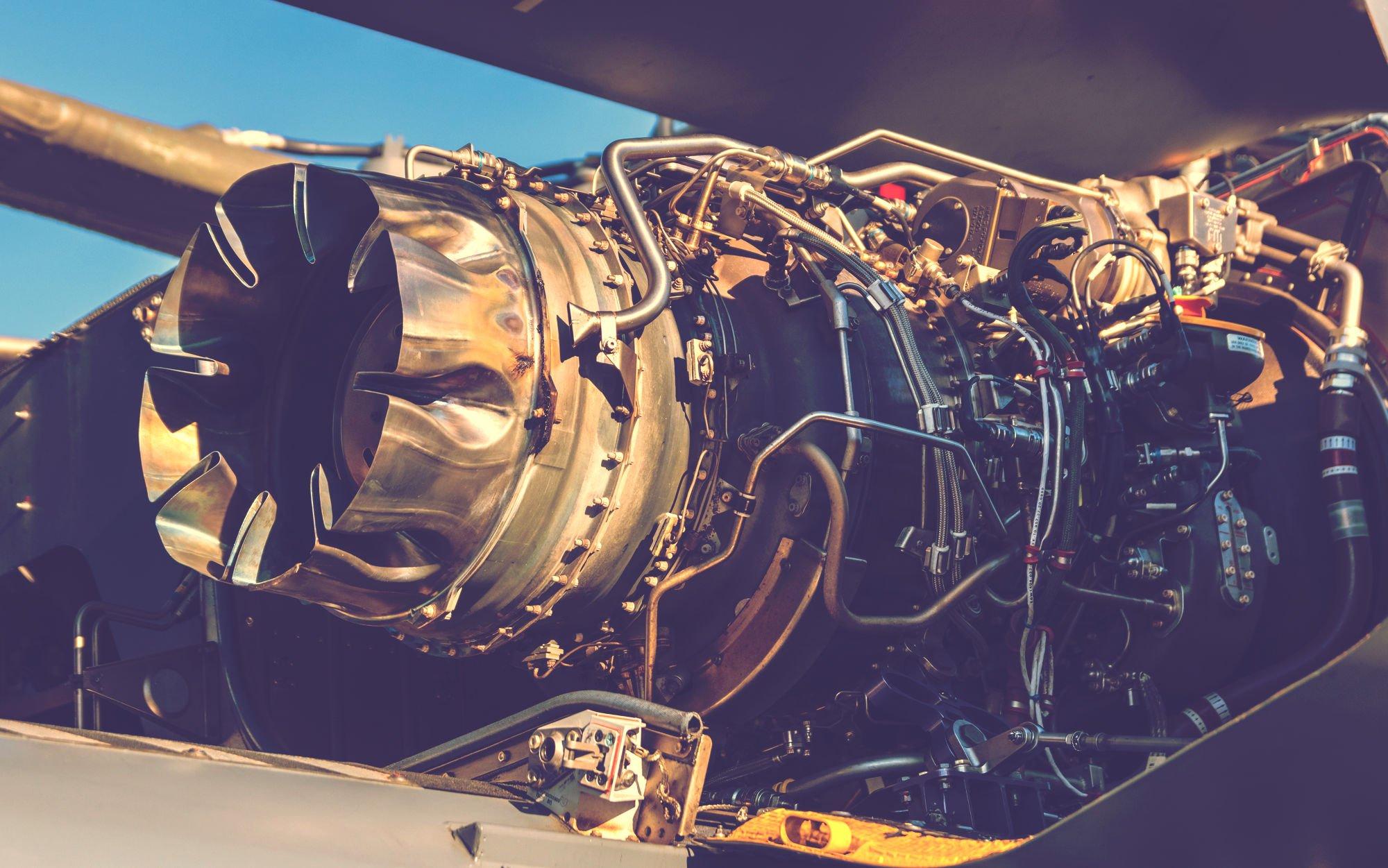エンジンのアップ