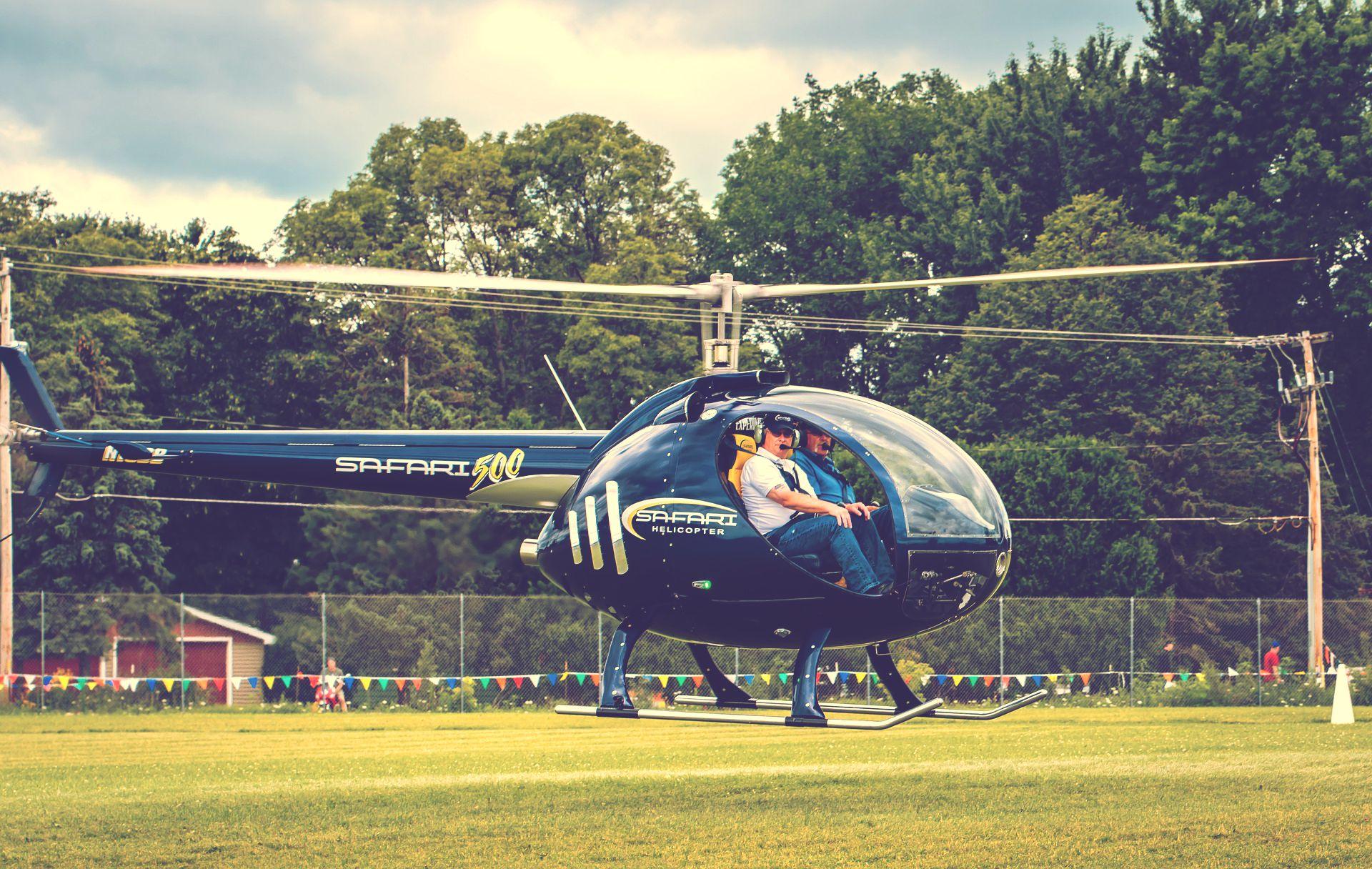 海外のヘリコプター